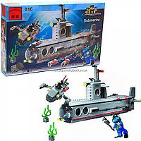 Конструктор «Военная техника» - Подводная лодка, 382 детали (816)