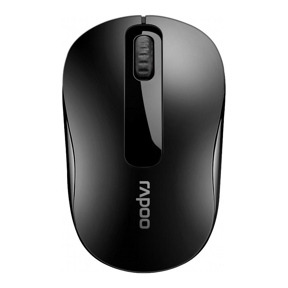 Мышь беспроводная RAPOO M10 Plus Wireless Optical Mouse Black