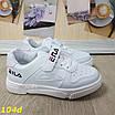 Кроссовки детские белые с липучкой 26-31р, фото 4