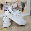 Кроссовки детские белые с липучкой 26-31р, фото 2