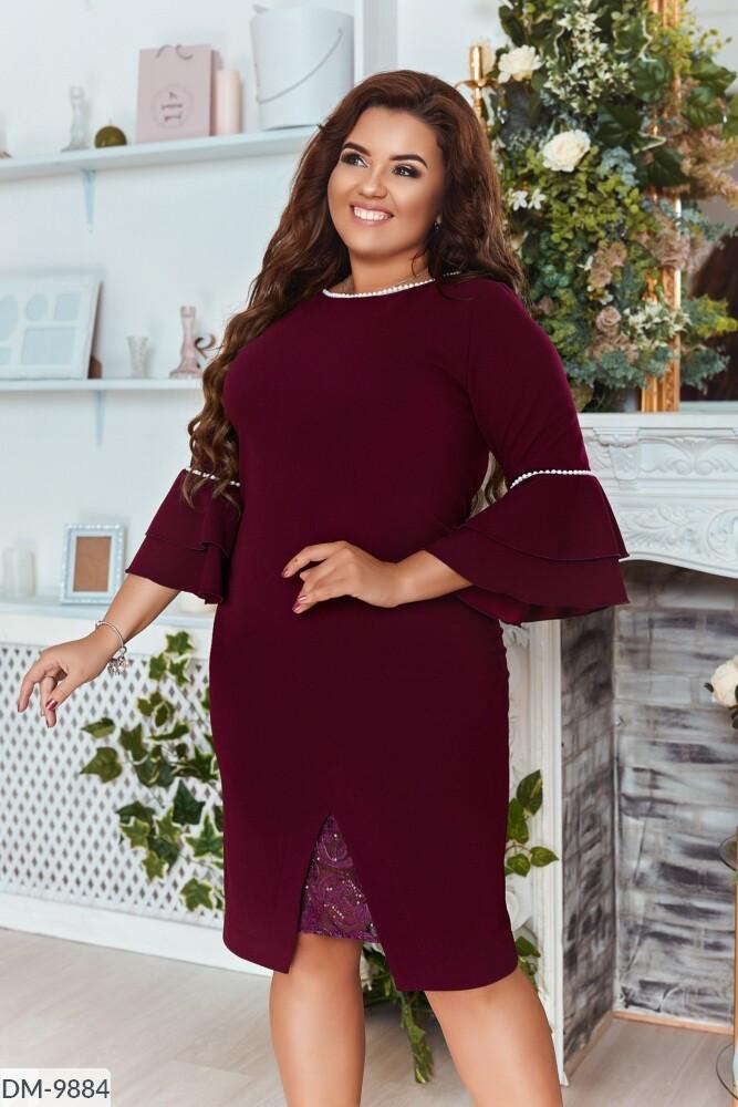 Нарядное платье в большом размере  Размеры: 48-50, 52-54, 56-58, 60-62
