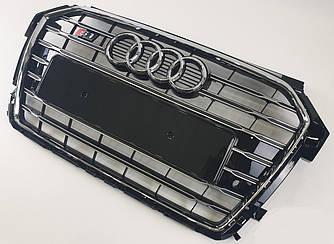 Решітка радіатора Audi A1 8X (14-18) стиль S1