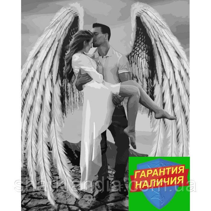 Картина по номерам Мой ангел-хранитель 40*50см Идейка KHO4511 Раскраска по цифрам