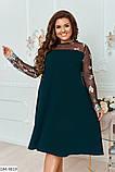 Нарядное платье в большом размере  Размеры: 48-50, 52-54, 56-58, 60-62, фото 3