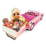Кукла Лол Сюрприз машина кабриолет с бассейном LOL Surprise Car-Pool Coupe Оригинал MGA, фото 5