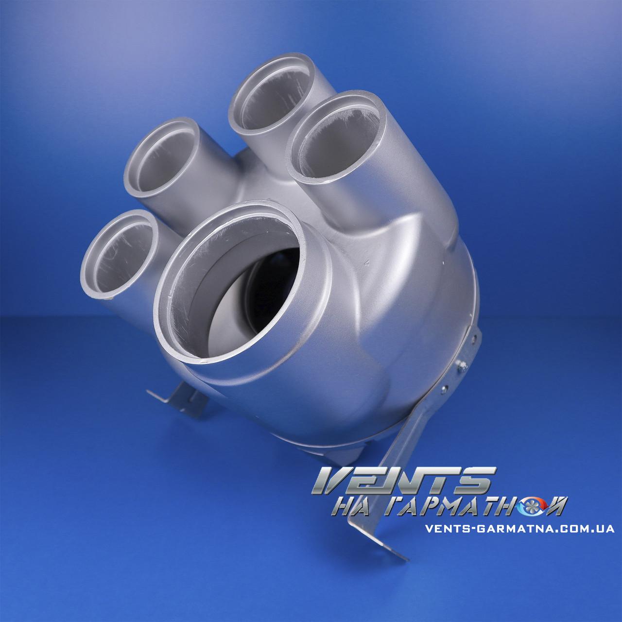 Вентс ВК ВМС 125. Многозональный центробежный вентилятор