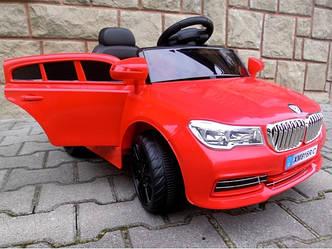 Электромобиль детский Cabrio В4 с мягкими колесами EVA. Цвет красный