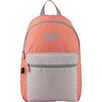 Молодежный городской рюкзак персиковый для девочек GoPack City 159-2 (GO20-159L-2)