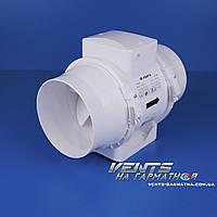 Вентс ТТ 125. Канальный вентилятор смешаного типа