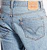 Джинсовые шорты Levis 505 - Light Stonewash (джинсы W30), фото 2