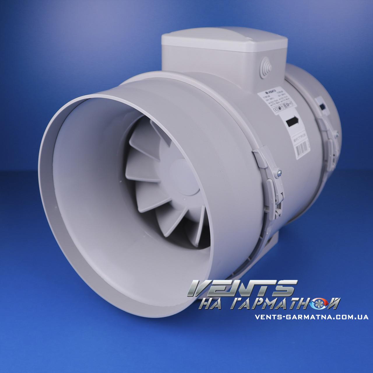 Вентс ТТ ПРО 200. Канальный вентилятор смешаного типа