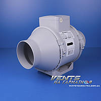 Вентс ТТ ПРО 100 ЕС. Канальный вентилятор смешаного типа с ЕС-мотором