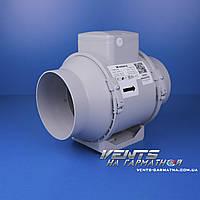 Вентс ТТ ПРО 125 ЕС. Канальный вентилятор смешаного типа с ЕС-мотором