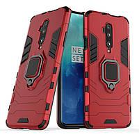 Чехол Ring Armor для OnePlus 7 Pro / 7T Pro Red