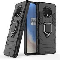 Чехол Ring Armor для OnePlus 7T Black