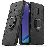 Чехол Ring Armor для OnePlus 6T / 7 Black