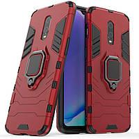 Чехол Ring Armor для OnePlus 6T / 7 Red