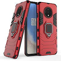 Чехол Ring Armor для OnePlus 7T Red