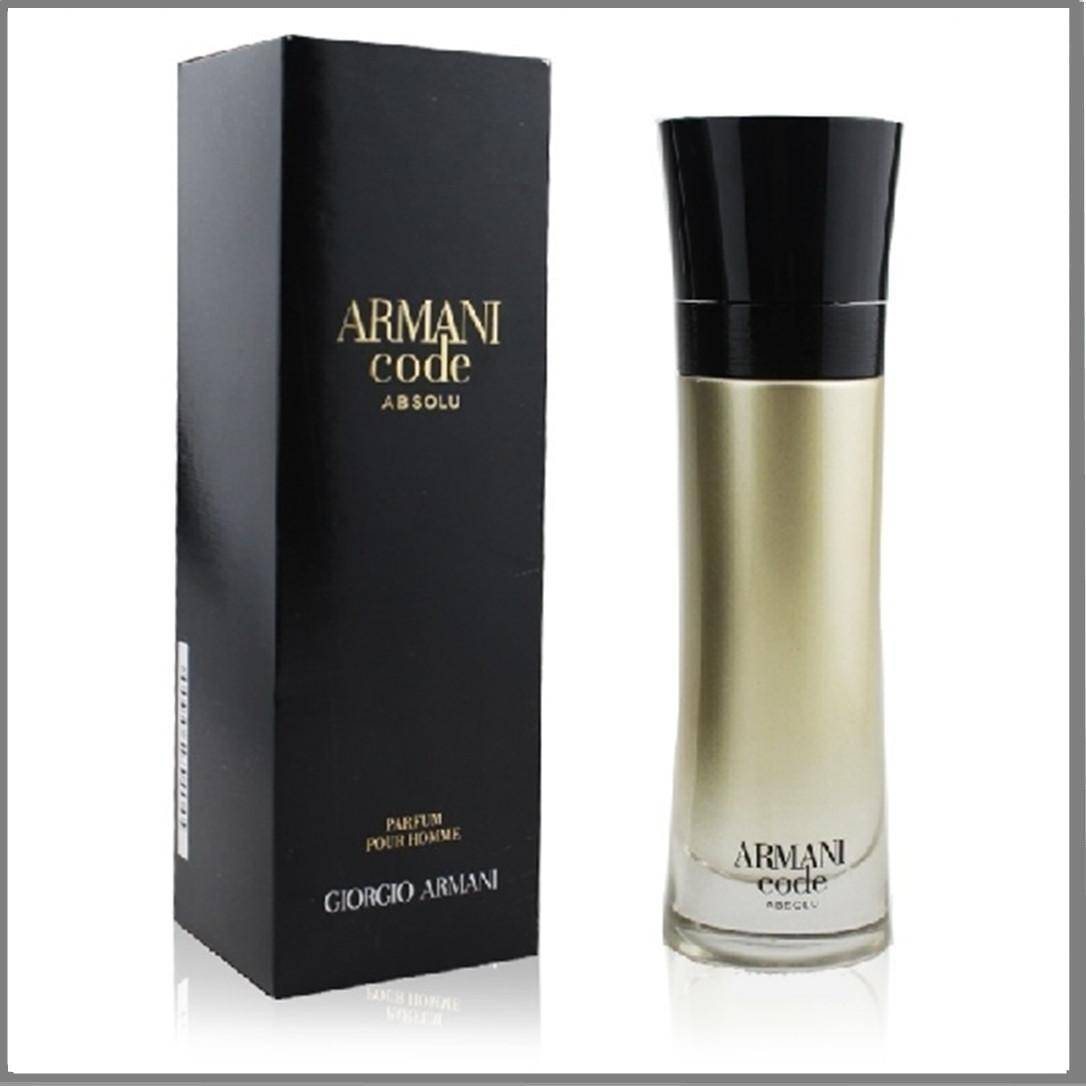 Giorgio Armani Code Absolu парфюмированная вода 110 ml. (Армани Код Абсолю)