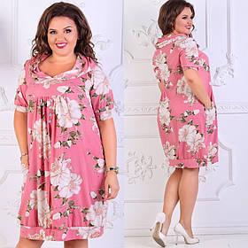 Оригинальное платье большого размера Размеры: : 50,52,54,56,58