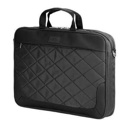 "Сумка для ноутбука 15.6"" Sumdex PON-322BK, черная, нейлон/полиэстер, 29,2 x 38,7 x 3,8 см, фото 2"