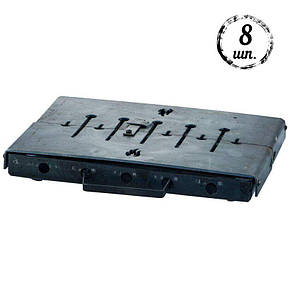Мангал-чемодан DV - 8 шп. x 1,5 мм (холоднокатанный)   Х006, фото 2