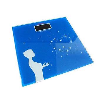 Весы напольные YZ-1604 Синие