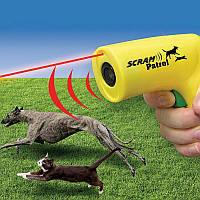 Ультразвуковий відлякувач собак з лазером Scram Patrol