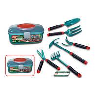 Набор инструментов G6318 (18шт) садовый, 6шт, в чемодане, 28-14-14см