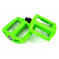 Педаль нейлон-пластик с шипом зеленая