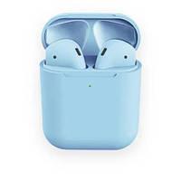 AP2 MACAROON Blue Беспроводные наушники Touch Sensor + PopUp