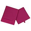 Скринька для зберігання, 25*25*30 см, (спанбонд), з відворотом (рожевий), фото 2