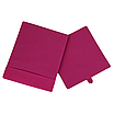 Скринька( коробка ) для зберігання, 25*25*30 см, (спанбонд), з відворотом (рожевий), фото 2