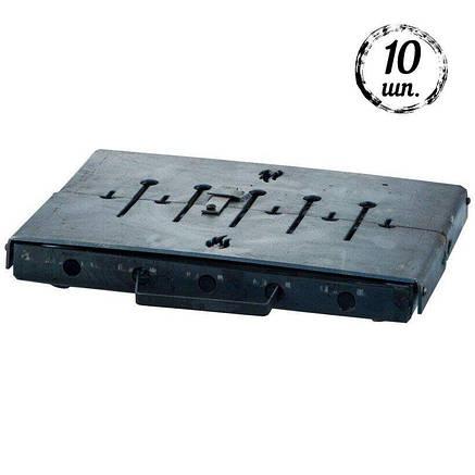 Мангал-чемодан DV - 10 шп. x 3 мм (горячекатаный) | Х003, фото 2