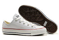 Кеды Converse All Star Low White Leather