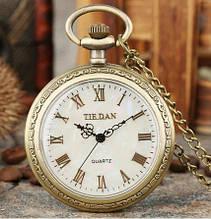 Часы карманные мужские кварцевые на цепочке