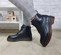 Ботинки женские  чёрные демисезон, фото 1