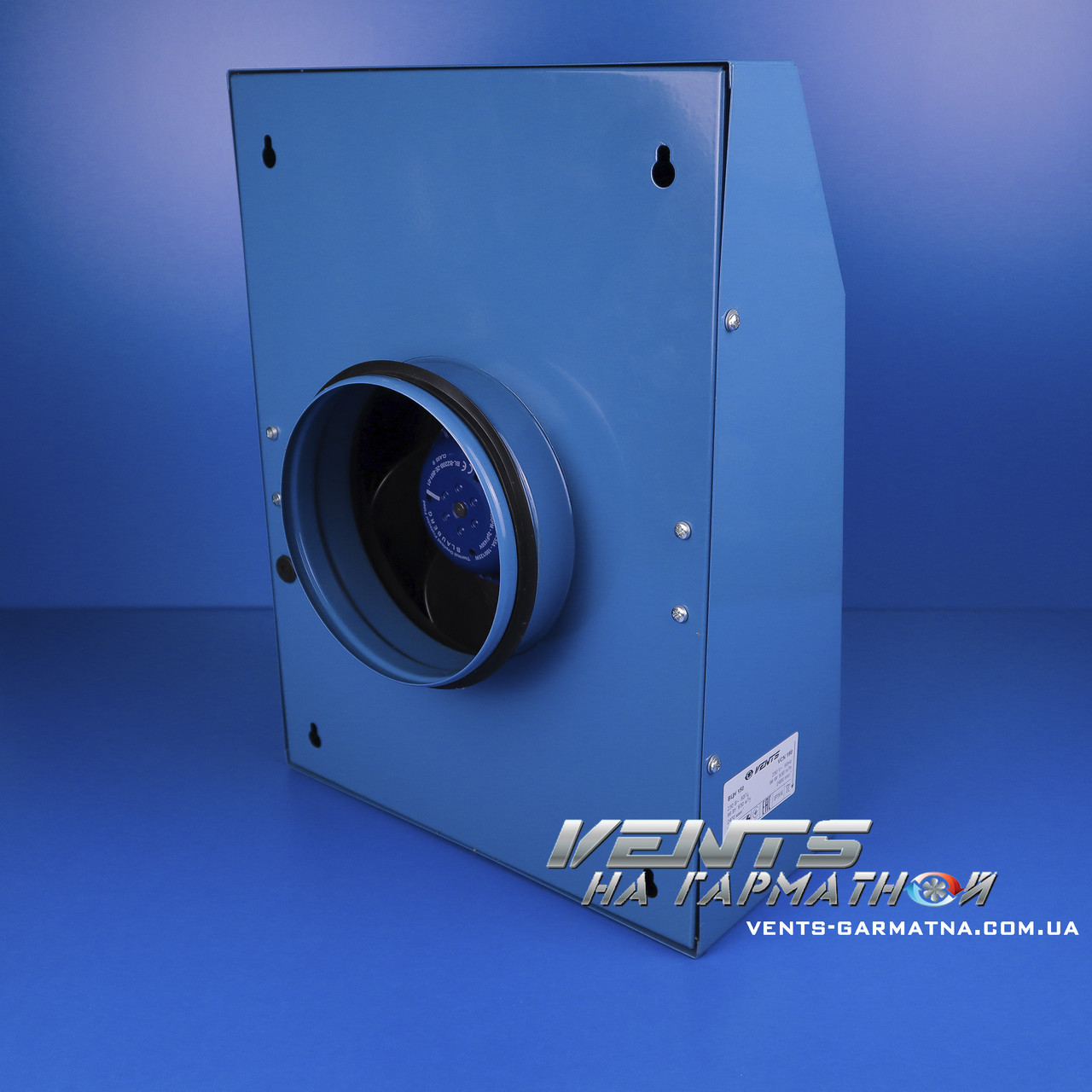 Вентс ВЦН 200. Вытяжной центробежный вентилятор