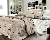 Ранфорс-люкс.Евро комплект постельного белья.