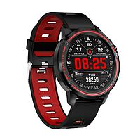 Cмарт-часы Full Touch Screen Sports Smart Watch NL87 Черно-красный