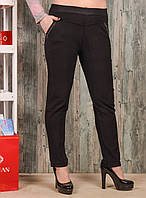 Женские брюки со стразиками на карманах Jujube  L-XL. Размер (46-50 )