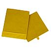 Скринька ( коробка ) для зберігання, 30*30*40 см, (спанбонд), з відворотом (жовтий), фото 2
