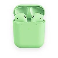 AP2 MACAROON Green Беспроводные наушники Touch Sensor + PopUp