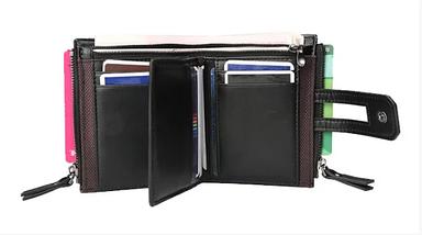 Чоловічий гаманець Baellery Meni портмоне (коричневий,сірий), фото 3