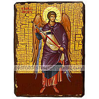 Икона Михаил Архистратиг ,икона на дереве 130х170 мм