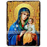 Неувядаемый Цвет Икона Пресвятой Богородицы (130х170мм)