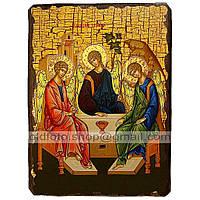 Икона Ветхозаветная Святая Троица (130х170мм)