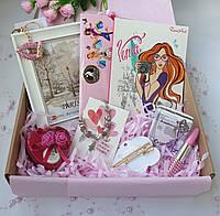 Подарочный набор для девушки на День Рождения. Подарок подруге, сестре, дочке, внучке, крестнице, племяннице