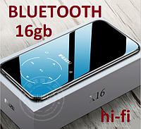 Плеєр Mp3 Ruizu X16 S Max Bluetooth HI FI 16Gb із зовнішнім динаміком Чорний