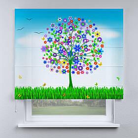 Римская фото штора Чудо-дерево